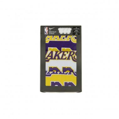 BODY NBA CREEPER 3PK BODYSUIT NO23 LEBRON JAMES LOSLAK