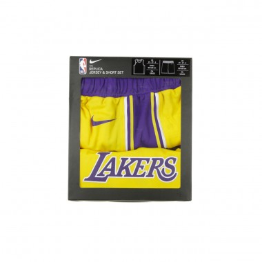 SET CANOTTA+PANTALONCINO NBA ICON REPLICA SET NO23 LEBRON JAMES LOSLAK