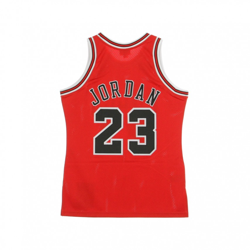 CANOTTA BASKET NBA AUTHENTIC JERSEY MICHAEL JORDAN NO23 1997-98 CHIBUL ROAD
