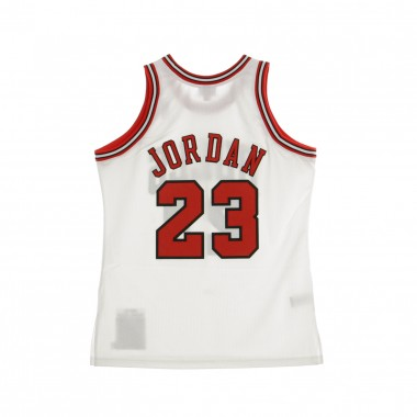 CANOTTA BASKET NBA AUTHENTIC JERSEY MICHAEL JORDAN NO23 1997-98 CHIBUL HOME