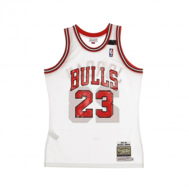 CANOTTA BASKET NBA AUTHENTIC JERSEY MICHAEL JORDAN NO23 1991-92 CHIBUL HOME