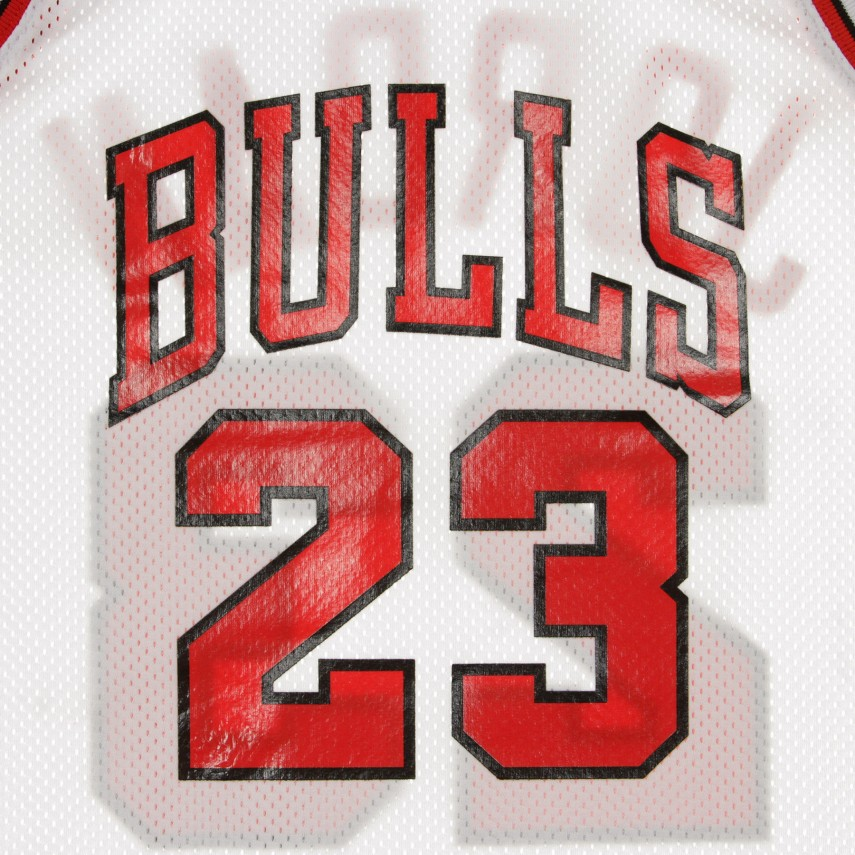 CANOTTA BASKET NBA AUTHENTIC JERSEY MICHAEL JORDAN NO23 1991-92 CHIBUL HOME