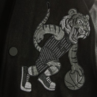 GIUBBOTTO COLLEGE TIGER BASKET PATCH