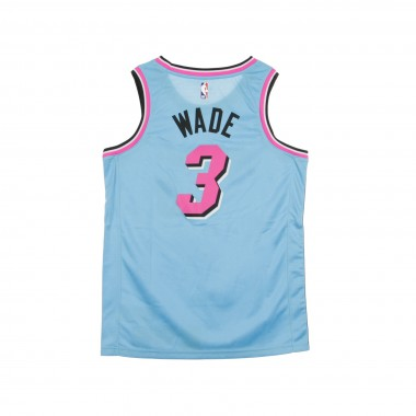 CANOTTA BASKET NBA CITY EDITION SWINGMAN JERSEY NO3 DWYANE WADE