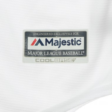 CASACCA BASEBALL MLB COOLBASE REPLICA JERSEY HOME BLANK OAKATH XS