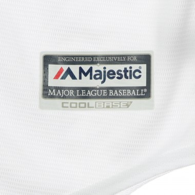 CASACCA BASEBALL MLB COOLBASE REPLICA JERSEY HOME BLANK BOSRED XS