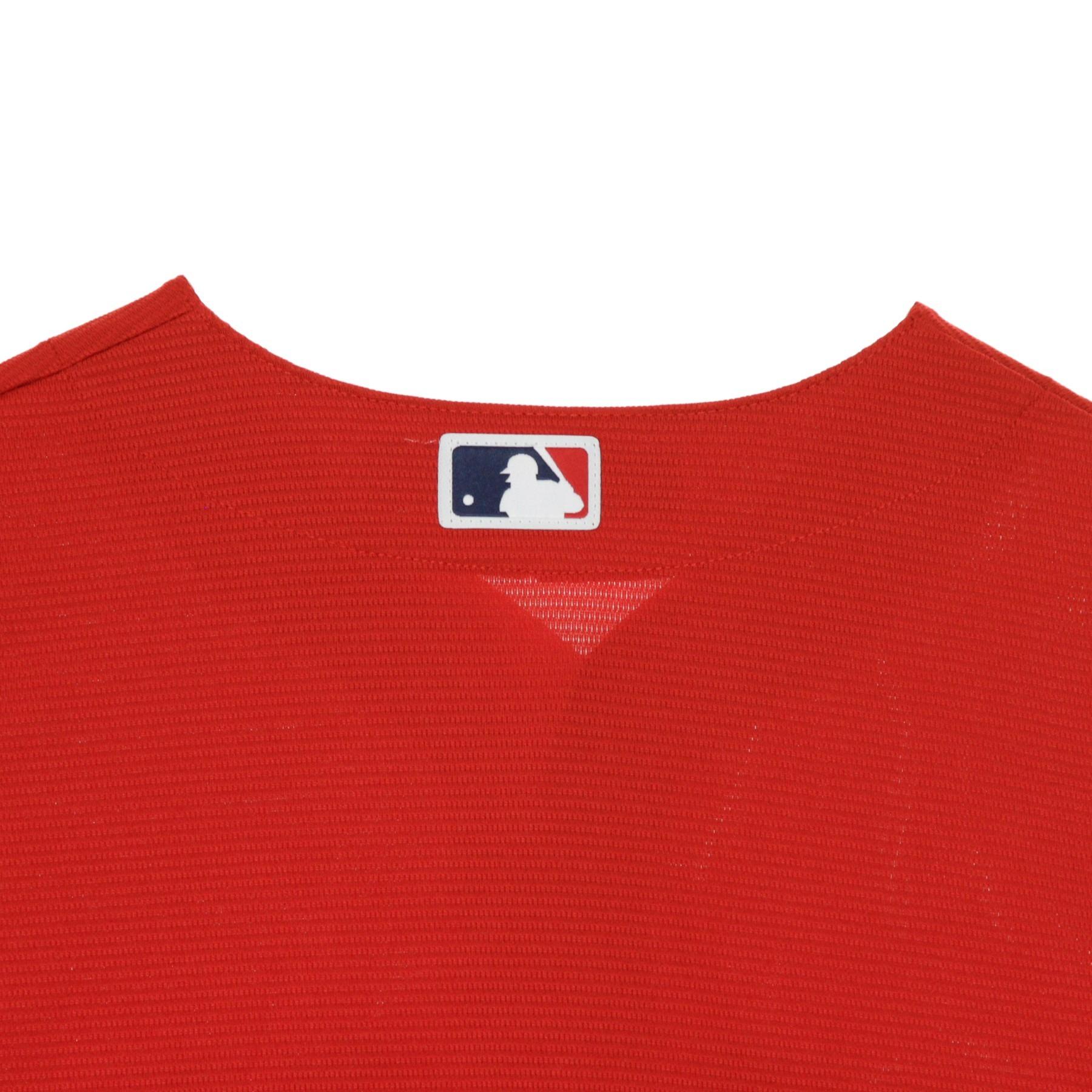 CASACCA BASEBALL MLB COOLBASE REPLICA JERSEY ALTERNATE BLANK BOSRED