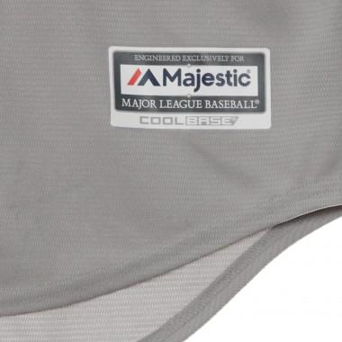 CASACCA BASEBALL MLB COOLBASE REPLICA JERSEY ROAD BLANK XS