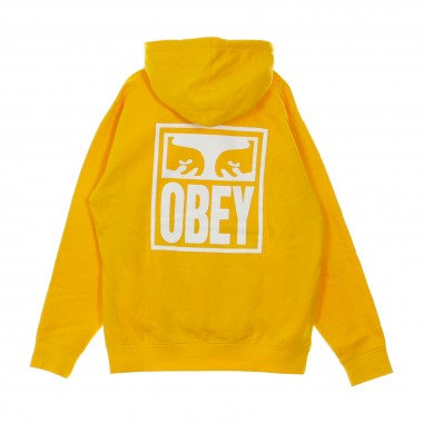 FELPA CAPPUCCIO OBEY EYES ICON BOX FIT PREMIUM