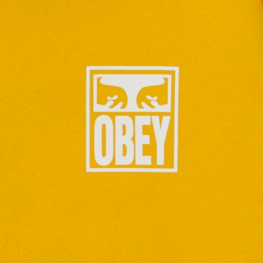FELPA CAPPUCCIO OBEY EYES ICON BOX FIT PREMIUM XS