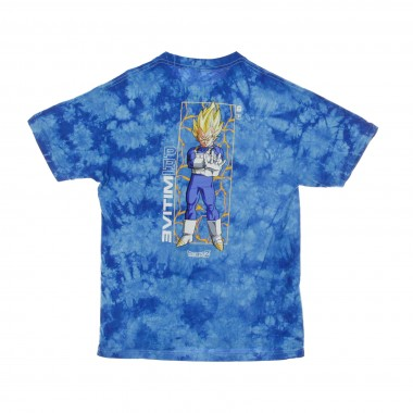 MAGLIETTA VEGETA GLOW WASHED X DRAGONBALLZ