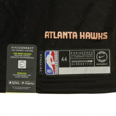 CANOTTA BASKET NBA CITY EDITION SWINGMAN JERSEY NO20 JOHN COLLINS ATLHAW