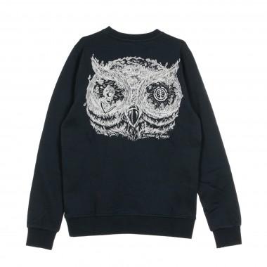 FELPA GIROCOLLO IN THE OWL CREW M