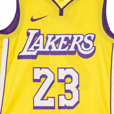 CANOTTA BASKET NBA CITY EDITION SWINGMAN JERSEY NO23 LEBRON JAMES LOSLAK