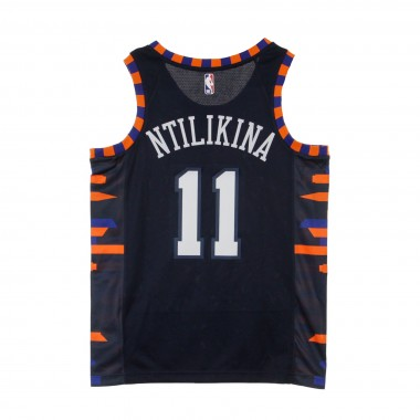 CANOTTA BASKET NBA CITY EDITION SWINGMAN JERSEY NO 11 FRANK NTILIKINA NEYKNI