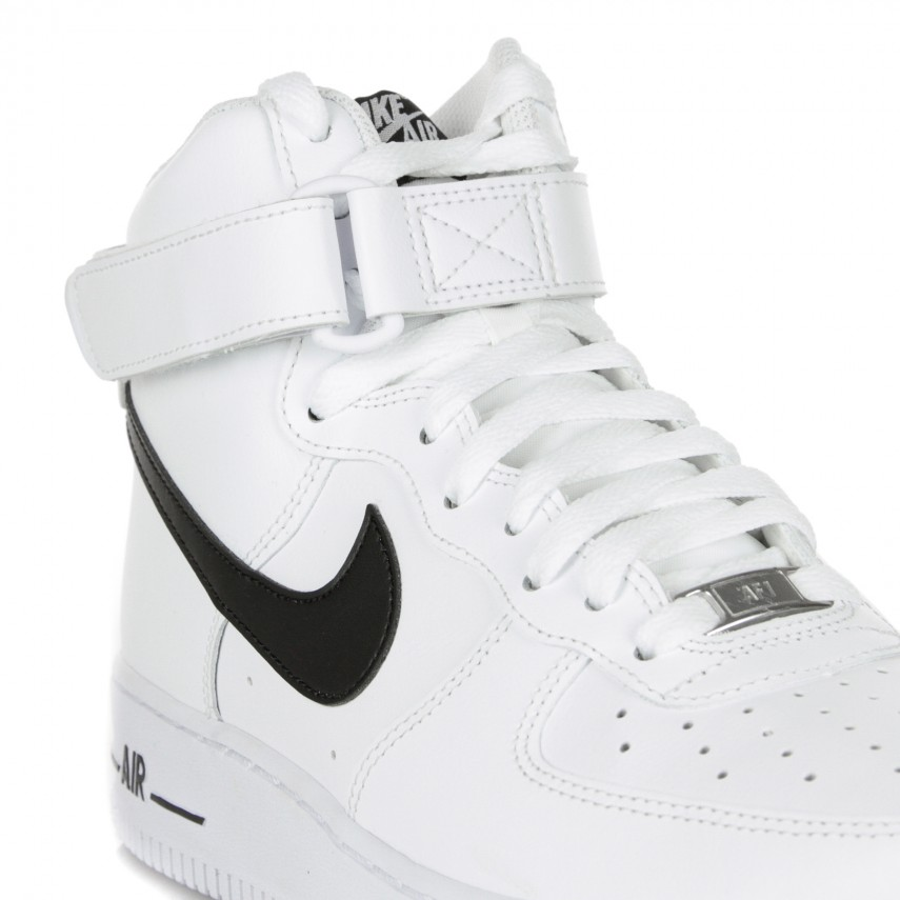 scarpa alta uomo air force 1 high 07 WHITE/BLACK