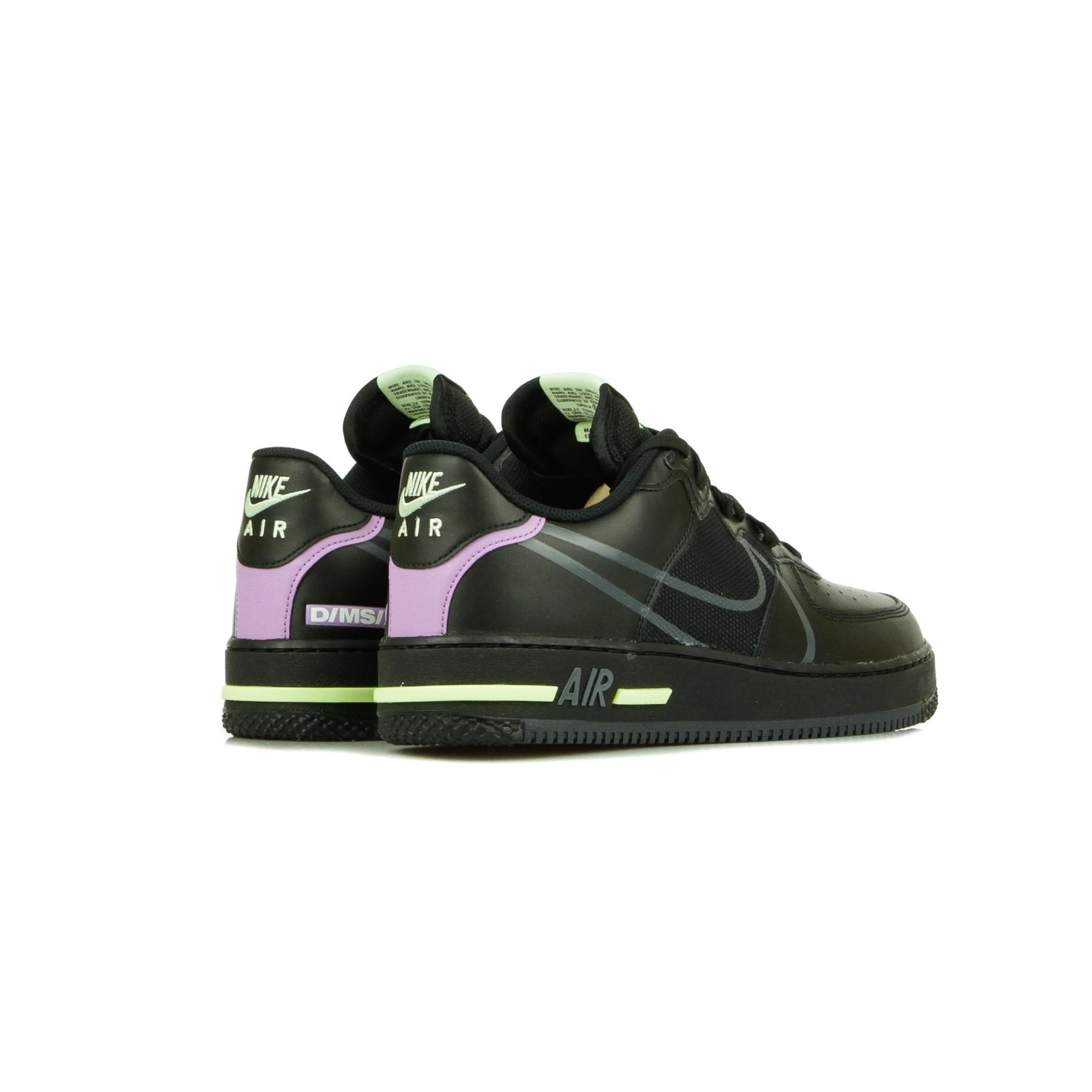 scarpa bassa uomo air force 1 react BLACK/ANTHRACITE/VIOLET STAR/BARELY VOLT