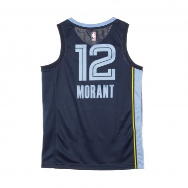 CANOTTA BASKET NBA SWINGMAN JERSEY NO 12 JA MORANT MEMGRI ROAD