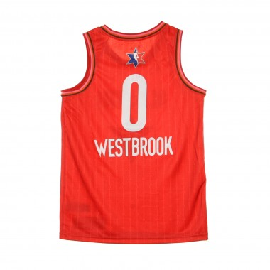 CANOTTA BASKET NBA SWINGMAN JERSEY NO0 RUSSELL WESTBROOK