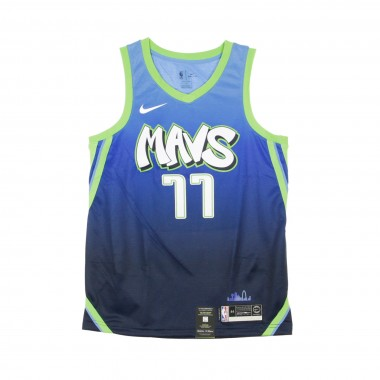 CANOTTA BASKET NBA CITY EDITION SWINGMAN JERSEY NO77 LUKA DONCIC DALMAV