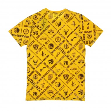 MAGLIETTA NBA ALL OVER PRINT TEE ALL TEAMS OTC M