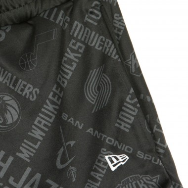 PANTALONCINO TIPO BASKET NBA ALL OVER PRINT SHORT ALL TEAMS OTC M