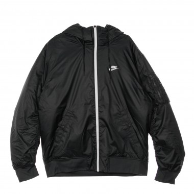 PIUMINO REVERSIBLE HOODED JACKET