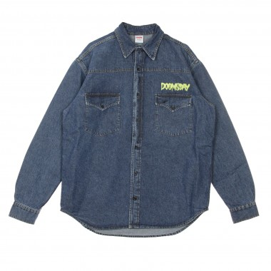 GIUBBOTTO JEANS FALSE DENIM SHIRT