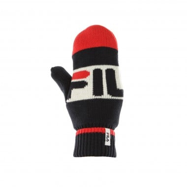 GUANTI INTARSIA KNITTED MITTENS