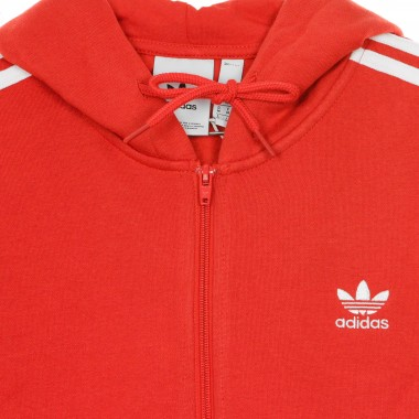 FELPA CAPPUCCIO ZIP 3-STRIPES FULL ZIP