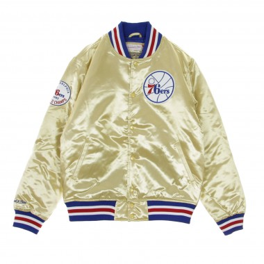 GIUBBOTTO BOMBER NBA CHAMPIONSHIP GAME SATIN JACKET PHI76E