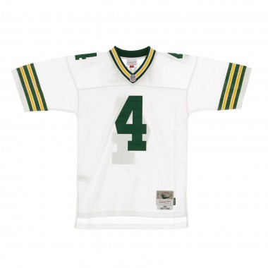 CASACCA FOOTBALL AMERICANO NFL LEGACY JERSEY BRETT FAVRE NO4 GREEN BAY PACKERS 1996 ROAD