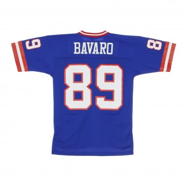 CASACCA FOOTBALL AMERICANO NFL LEGACY JERSEY MARK BAVARO NO89 NEW YORK GIANTS 1986 HOME