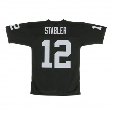 CASACCA FOOTBALL AMERICANO NFL LEGACY JERSEY KEN STABLER NO12 LOS ANGELES RAIDERS 1976 HOME