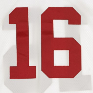 CASACCA FOOTBALL AMERICANO NFL LEGACY JERSEY JOE MONTANA NO16 SAN FRANCISCO 49ERS 1990 ROAD
