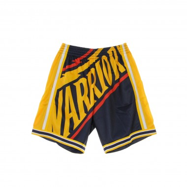 PANTALONCINO BASKET NBA BIG FACE SHORT 2000-01 GOLWAR