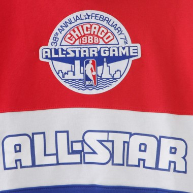 FELPA CAPPUCCIO NBA LEADING SCORER FLEECE HOODY ALL STAR GAME 1988