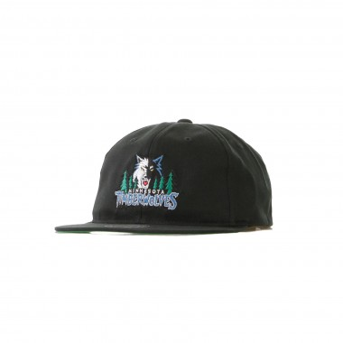 CAPPELLO VISIERA PIATTA REGOLABILE NBA TEAM LOGO DEADSTOCK THROWBACK SNAPBACK MINTIM