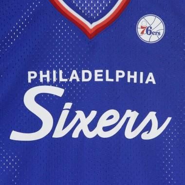 CASACCA NBA SPECIAL SCRIPT MESH V-NECK PHI76E