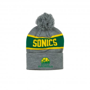 CAPPELLO INVERNALE POM POM NBA TEAM TONE KNIT SEASUP