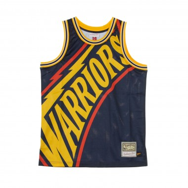 CANOTTA BASKET NBA BIG FACE JERSEY GOLWAR