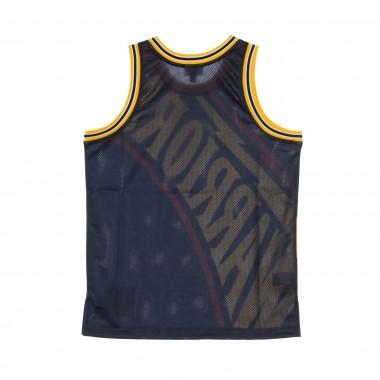 CANOTTA BASKET NBA BIG FACE JERSEY GOLWAR