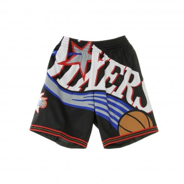 PANTALONCINO BASKET NBA BIG FACE SHORT 2000-01 PHI76E