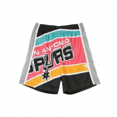 PANTALONCINO BASKET NBA BIG FACE SHORT 1998-99 SAASPU