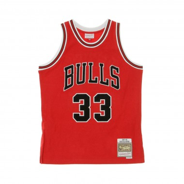 CANOTTA BASKET NBA REVERSED FLEECE SWINGMAN JERSEY NO33 SCOTTIE PIPPEN 1997-98 CHIBUL