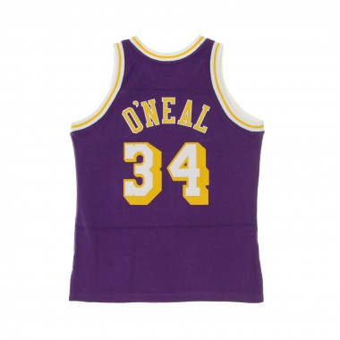 CANOTTA BASKET NBA REVERSED FLEECE SWINGMAN JERSEY NO34 SHAQUILLE ONEAL 1996-97 LOSLAK