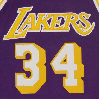 CANOTTA BASKET NBA REVERSED FLEECE SWINGMAN JERSEY NO34 SHAQUILLE ONEAL 1996-97 LOSLAK