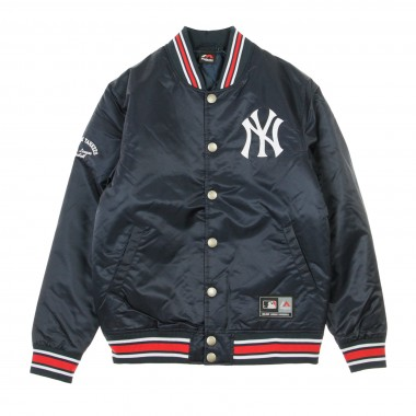GIUBBOTTO BOMBER MLB GLASCOE PADDED SATIN JACKET NEYYAN