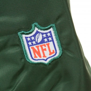 GIUBBOTTO BOMBER NFL GLASCOE PADDED SATIN JACKET NEYJET