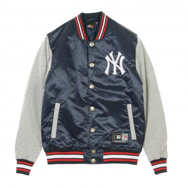GIUBBOTTO COLLEGE MLB CREECH MIX FABRIC VARSITY JACKET NEYYAN